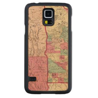 Minnesota and Dakota Carved Maple Galaxy S5 Case