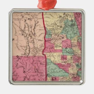 Minnesota and Dakota Christmas Ornament