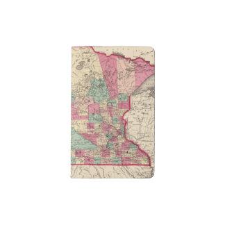 Minnesota and Dakota Pocket Moleskine Notebook