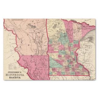 Minnesota and Dakota Tissue Paper
