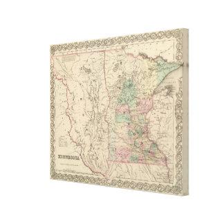 Minnesota and Dakotah Canvas Prints