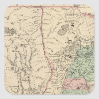 Minnesota and Dakotah Square Sticker