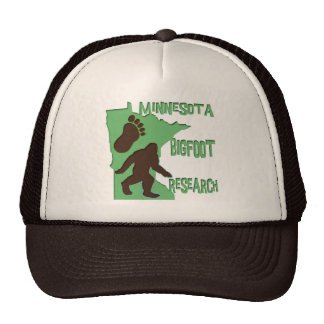 Minnesota Bigfoot Research Cap