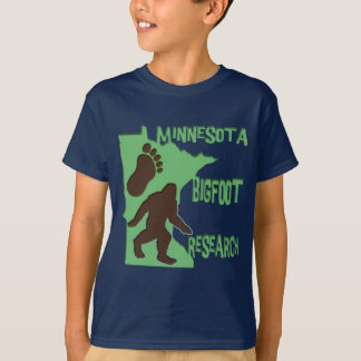 Minnesota Bigfoot Research T-Shirt