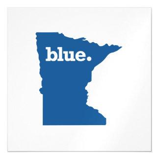 MINNESOTA BLUE STATE MAGNETIC INVITATIONS