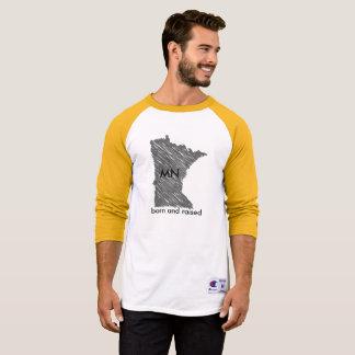 Minnesota Born and Raised T-Shirt