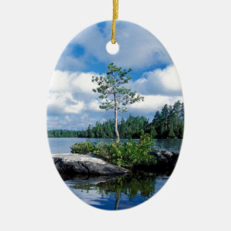 Minnesota Boundary Waters Christmas Ornament