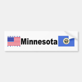 Minnesota Bumper Sticker