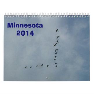 Minnesota Calendar 2014