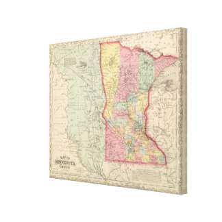 Minnesota Canvas Print