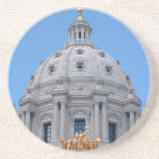 Minnesota Capitol Dome Beverage Coaster