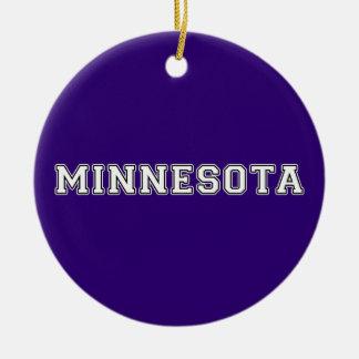 Minnesota Christmas Ornament