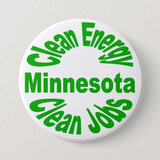 Minnesota Clean Emery - Clean Jobs 7.5 Cm Round Badge