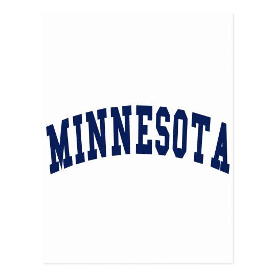 Minnesota College Postcard