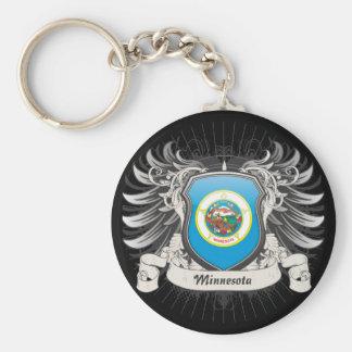 Minnesota Crest Key Ring