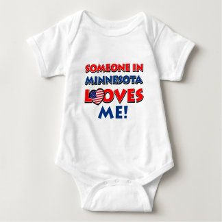 MINNESOTA designs Baby Bodysuit