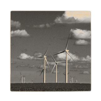 Minnesota, Dexter, Grand Meadow Wind Farm 1 Maple Wood Coaster