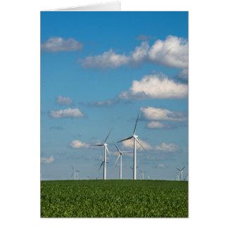 Minnesota, Dexter, Grand Meadow Wind Farm 2 Card