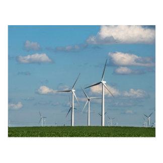Minnesota, Dexter, Grand Meadow Wind Farm 2 Postcard