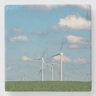 Minnesota, Dexter, Grand Meadow Wind Farm 2 Stone Coaster