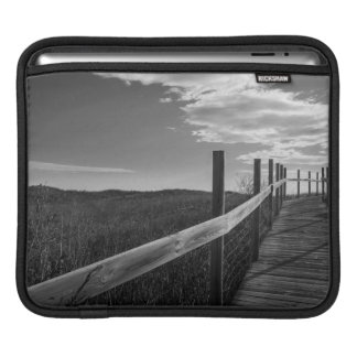 Minnesota, Duluth, Park Point, Boardwalk iPad Sleeve