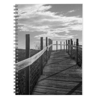 Minnesota, Duluth, Park Point, Boardwalk Notebook