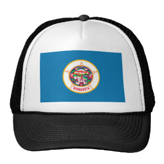 Minnesota Flag Mesh Hats