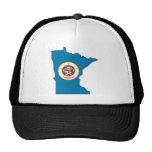 Minnesota Flag Map Trucker Hat