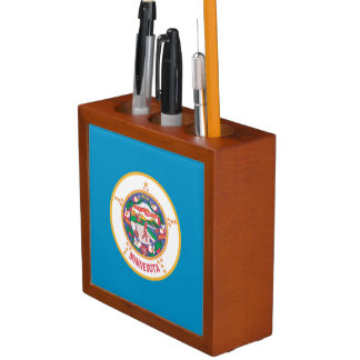 MINNESOTA FLAG Pencil/Pen HOLDER