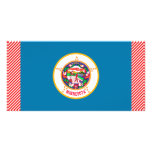 Minnesota Flag Picture Card