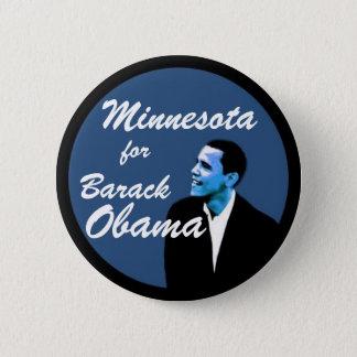 Minnesota for Barack Obama 6 Cm Round Badge