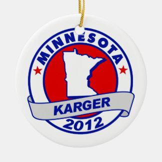 Minnesota Fred Karger Christmas Tree Ornaments