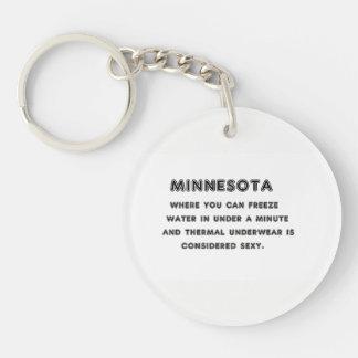 Minnesota Freeze Key Ring