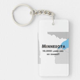 Minnesota Funny Key Ring