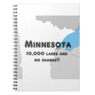 Minnesota Funny Notebooks