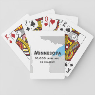 Minnesota Funny Playing Cards