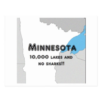Minnesota Funny Postcard