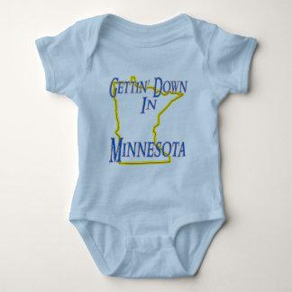 Minnesota - Gettin' Down Baby Bodysuit