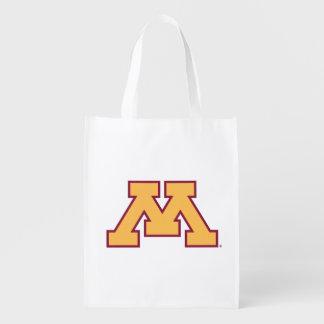 Minnesota Gold M Reusable Grocery Bag