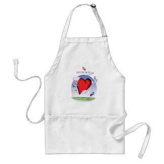 minnesota head heart, tony fernandes standard apron