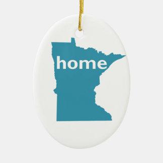 Minnesota Home Christmas Ornament
