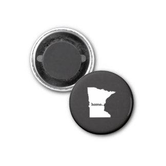Minnesota Home 3 Cm Round Magnet