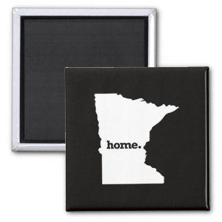 Minnesota Home Square Magnet