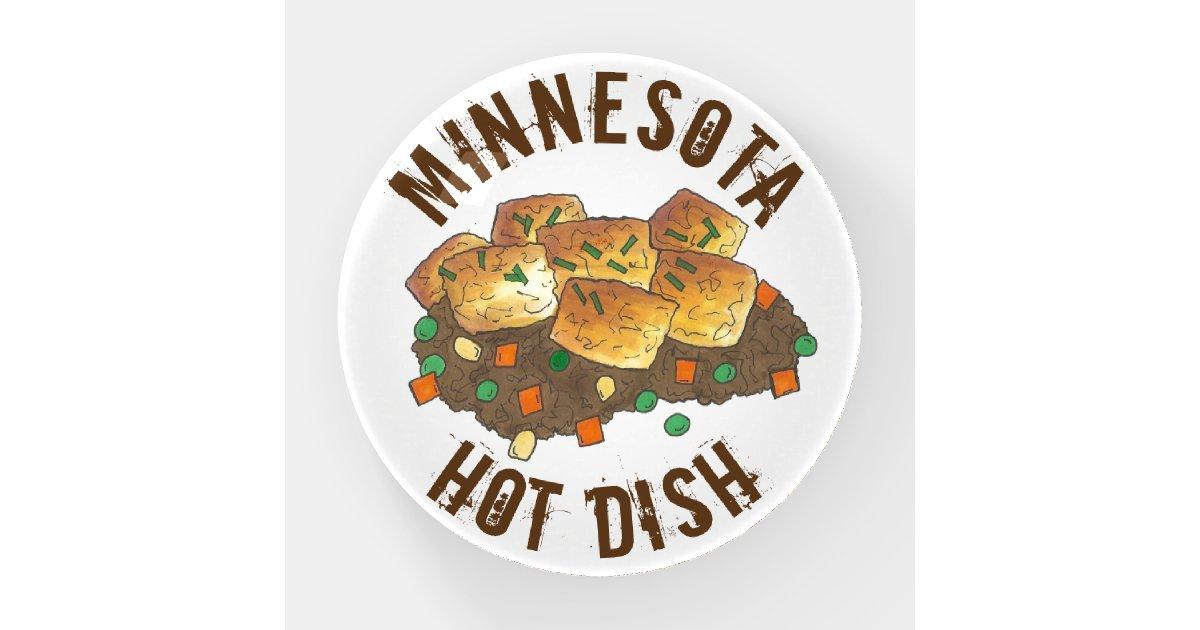 Minnesota Hot Dish Tater Tot Casserole Paperweight ...