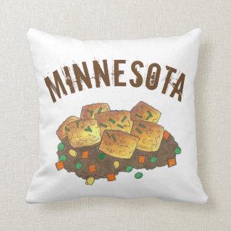 Minnesota Hot Dish Tater Tot Hotdish Casserole Cushion