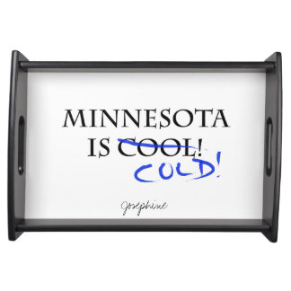 Minnesota is Cool Serving Trays