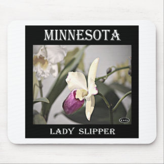 Minnesota Lady Slipper Mouse Pad