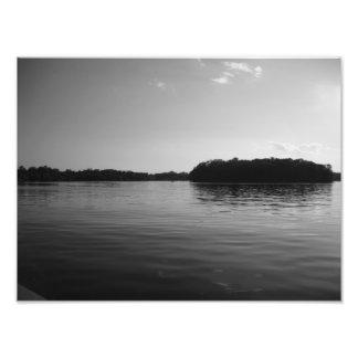 Minnesota Lake Landscape Sunset Photo Print Art MN