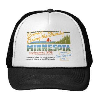 Minnesota - Land of Ten Thousand Lakes Cap
