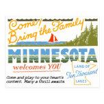 Minnesota - Land of Ten Thousand Lakes Postcard